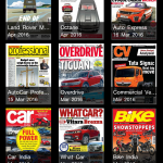 Magazine category view
